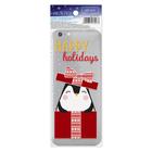 Наклейка для телефона Happy holidays, 7 х 14 см
