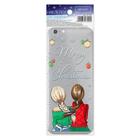 Наклейка для телефона Merry Christmas, 7 х 14 см
