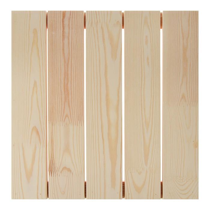 Планшет деревянный модульный с рейкой 40х40х2.7 см (толщина 18 мм) Школа художников