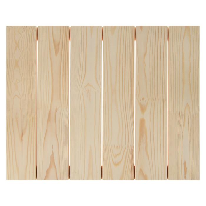 Планшет деревянный модульный с рейкой 40*50*3.4 см (толщина 18мм) Школа художников