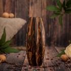 """Ваза из мангового дерева """"Контраст"""" 19х7,5х7,5 см"""