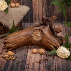 "Часы дерево ""Элегантность"" 40х22х7 см"