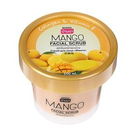 """Скраб для лица Banna """"Манго,100 мл"""