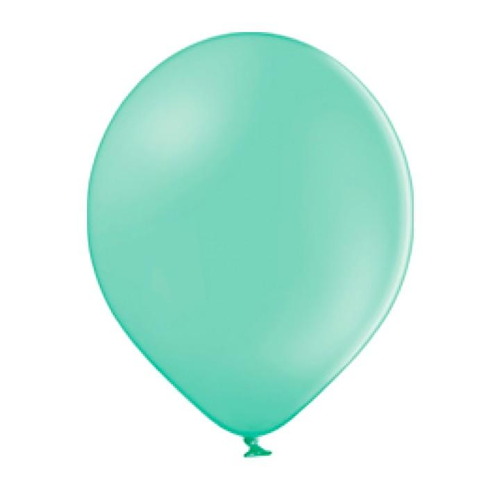 """Шар латексный 10"""", пастель, набор 50 шт., экстра, светло-зелёный - фото 285916334"""