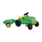 """Трактор Dohany """"Фермер с прицепом"""" на педалях"""