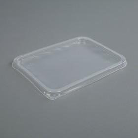 Крышка 'Южуралпак' для плоского контейнера. 179х132х8мм Ош
