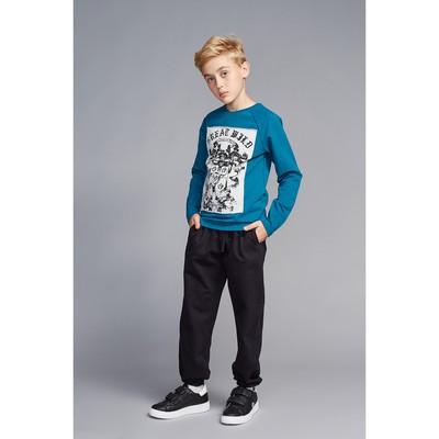 Брюки для мальчика, рост 104-110 см (30), цвет чёрный