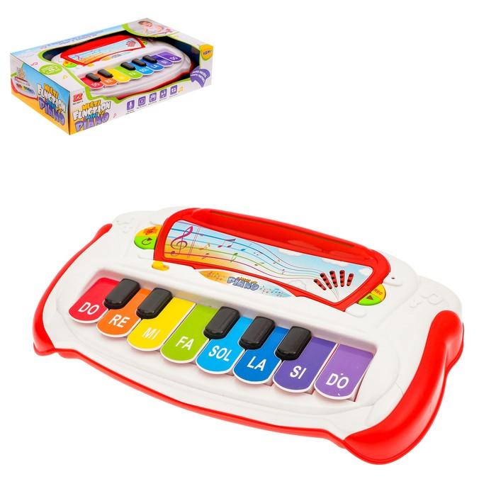 Пианино для малышей «Музыкальная шкатулка», звуковые эффекты, 13 клавиш