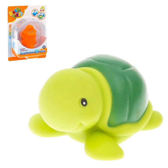 Игрушка для игры в воде «Морской обитатель» световой эффект, МИКС