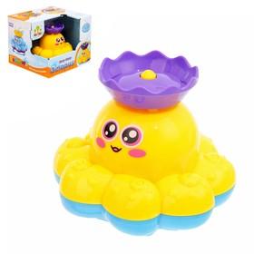 Развивающая игрушка «Осьминожка» для игры с водой, МИКС