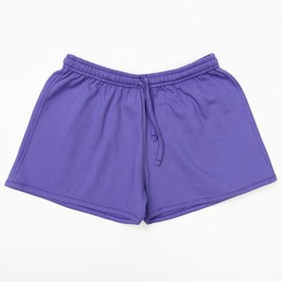 Шорты для девочки, рост 110-116 см (32), цвет сиреневый