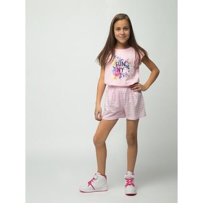 Шорты для девочки, рост 140-146 см (40), цвет розовый