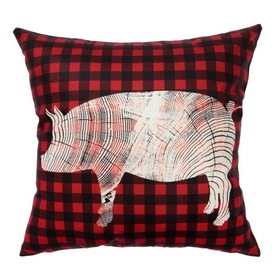 """Pillow case decorative """"Character of the year"""" 40 x 40 cm, velour, 100 % p/e"""