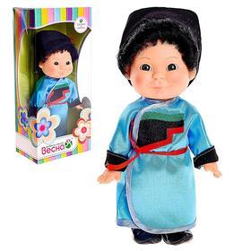 Кукла 'Веснушка' в бурятском костюме, мальчик Ош