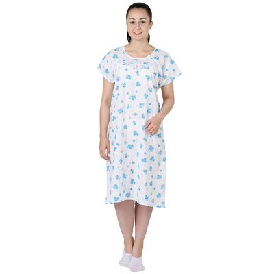 Сорочка женская Мисс принт МИКС цвет белый, р-р 46
