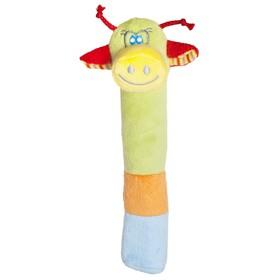 Мягкая развивающая игрушка 'Жирафик', 17.5 см Ош