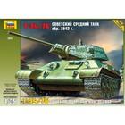 Сборная модель «Советский средний танк обр. 1942 г.»