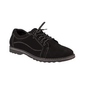 Туфли мужские, цвет чёрный, размер 42
