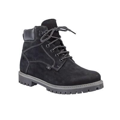 Ботинки мужские арт. 4645-01-07Ш (черный) (р. 43)