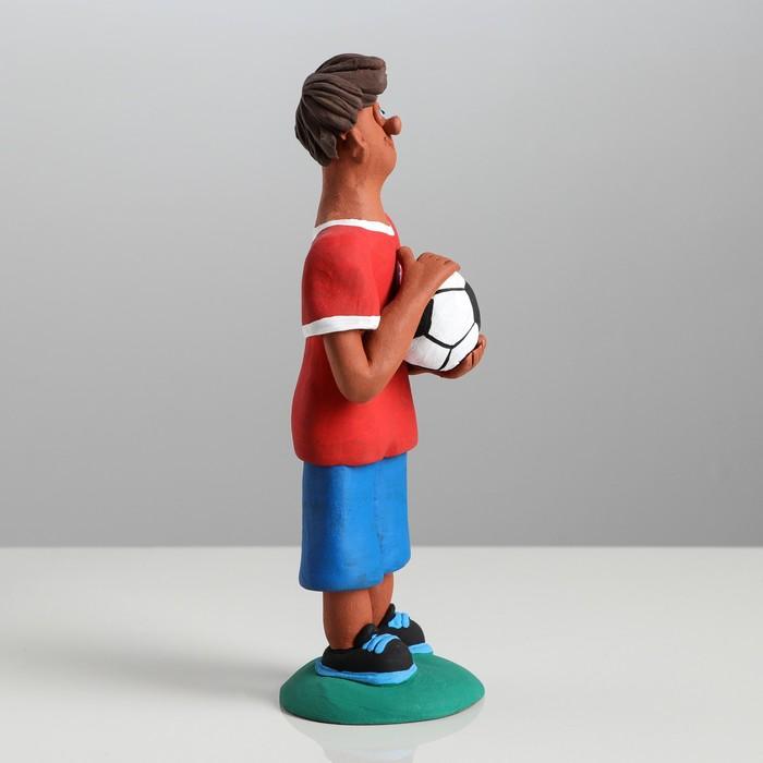 "Статуэтка ""Футболист"" микс - фото 370256752"