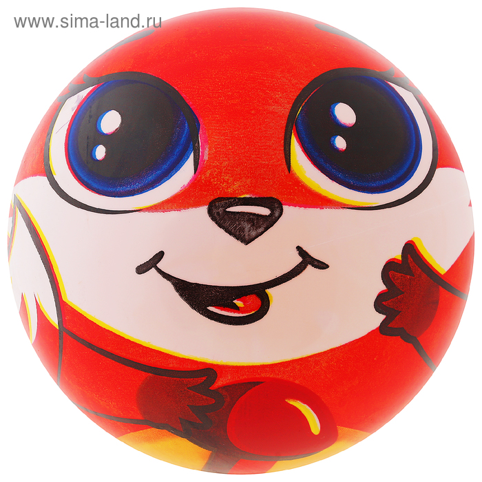 Мяч детский «Лисичка», d=22 см, 60 г