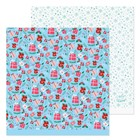 Бумага для скрапбукинга «Подарочки», 30,5 × 30,5