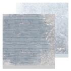 Бумага для скрапбукинга «Зимние досочки», 30,5 × 30,5