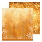 Бумага для скрапбукинга «Новогодние блестки», 30,5 × 30,5