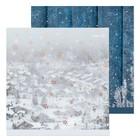 Бумага для скрапбукинга «Зимний городок», 30,5 × 30,5