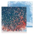 Бумага для скрапбукинга «Новогодние огоньки», 30,5 × 30,5