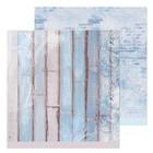 Бумага для скрапбукинга «Зимняя стенка», 30,5 × 30,5
