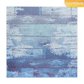 """Paper for scrapbooking with embossed """"lot of boards"""" 15.5 x 15.5 cm, 250g/m"""