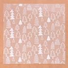 Ацетатный лист для скрапбукинга «Ёлочки», 15,5 × 15,5 см