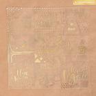 Ацетатный лист с фольгированием «Сияние ночи», 30,5 × 30,5 см, 25 мкм