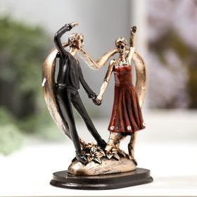 "Сувенир полистоун ""Идиллия. Танцующая пара""  12,6х10,3х6,3 см - фото 1734705"