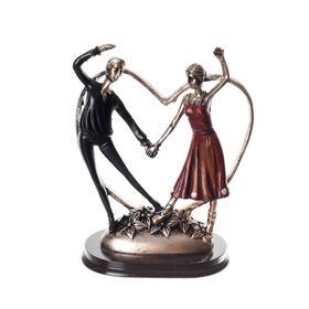 "Сувенир полистоун ""Идиллия. Танцующая пара""  12,6х10,3х6,3 см - фото 7767233"