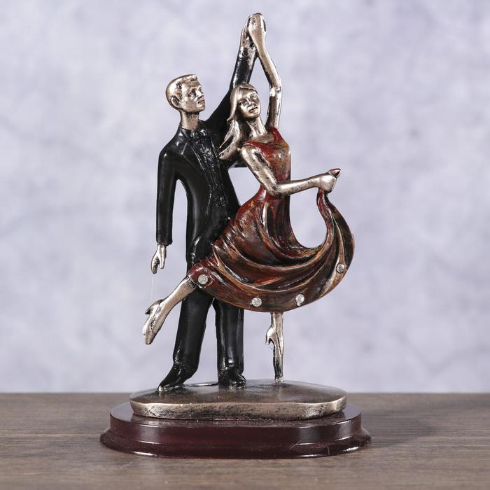 "сувенир полистоун ""Пируэт. Танцующая пара"" 14х9х6,4 см"