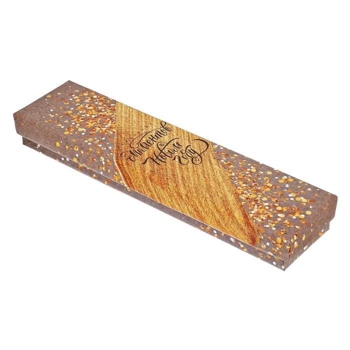 Подарочная упаковка Коробочка под браслет «Волшебных моментов», 4,5 × 20 × 2,2 см - фото 473030400