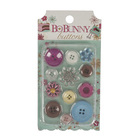 """Набор декоративных пуговиц BoBunny """"Sweet Tooth Buttons""""  (12 шт) от 1 до 3 см"""