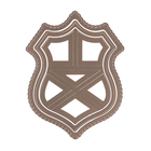 Набор мини-ножей для вырубки «Family Heirlooms Crest» 3 шт
