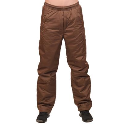 Брюки мужские цвет коричневый, р-р 48