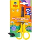 Ножницы детские для левшей 12,5 см Мульти-Пульти «Приключения Енота»