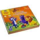Пластилин 12 цветов 240 гр Мульти-Пульти «Приключения Енота» со стеком 236483