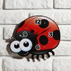 "Wall clock, series: Children, ""ladybug"", 24 cm"