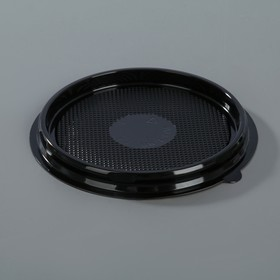 Контейнер одноразовый ПР-Т-85Д, круглый, черный, дно, d-11 см, 780 шт/уп