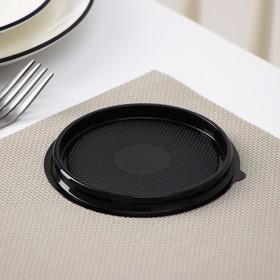 Контейнер ПР-Т-85Д, круглый, черный, дно, d-11 см Ош