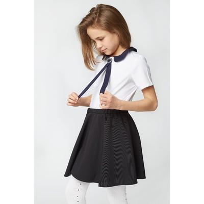 Блузка для девочки 2129, цвет белый, р-р 34