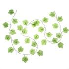 Лиана лист кленовый  2,2 м цена за 1шт(фасовка 12шт)