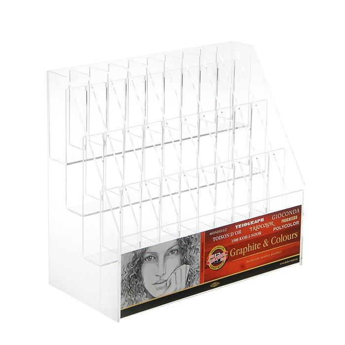 Пластиковый дисплей Koh-i-Noor, 39х35х15 см