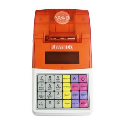 Онлайн-касса АГАТ 1Ф WiFi/GSM без ФН, цвет бело-оранжевый